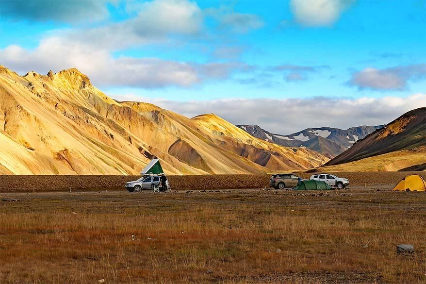 Camping in Iceland - the most complete guide with practical tips