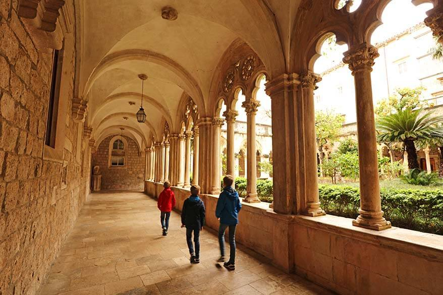 Dominican Monastery in Dubrovnik