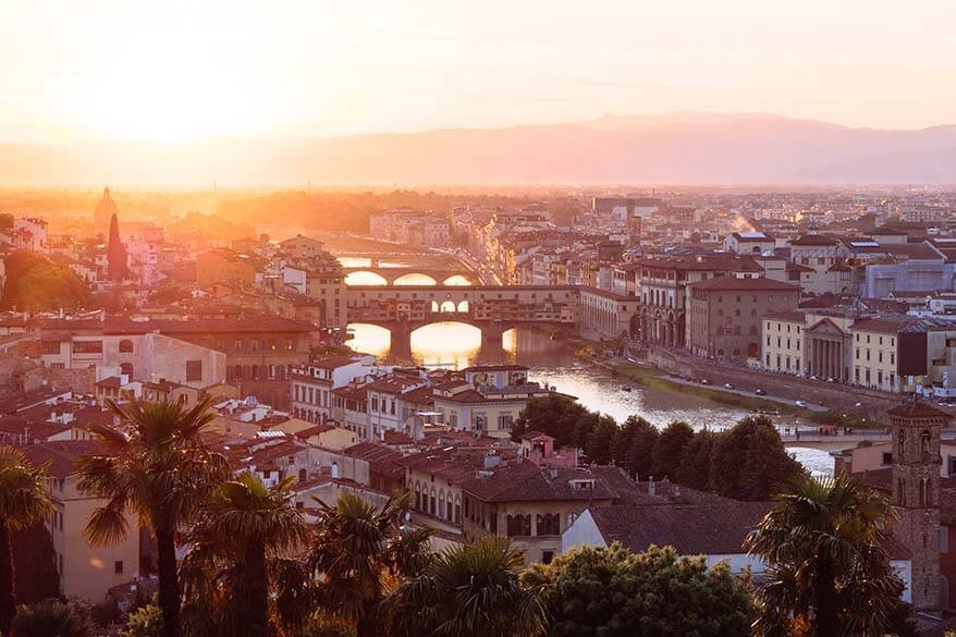 Florence is one of the best towns in Tuscany