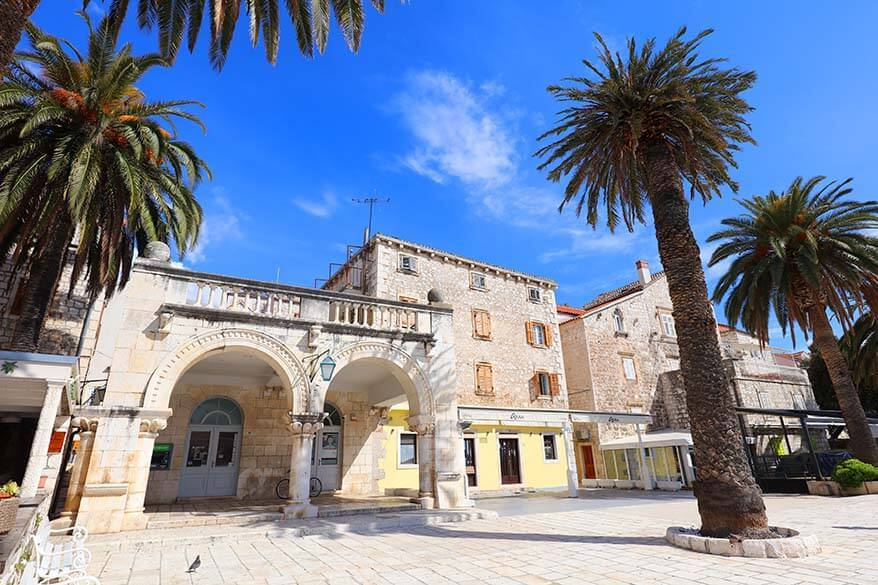 Hvar island is one of the most popular vacation destinations in Croatia