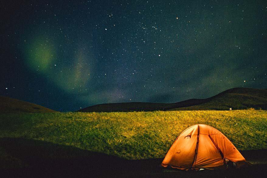 Iceland camping tips and practical information
