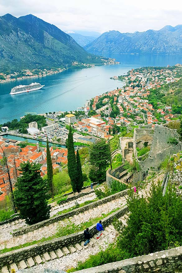 Kotor in Montenegro is a great addition to any Croatia travel itinerary
