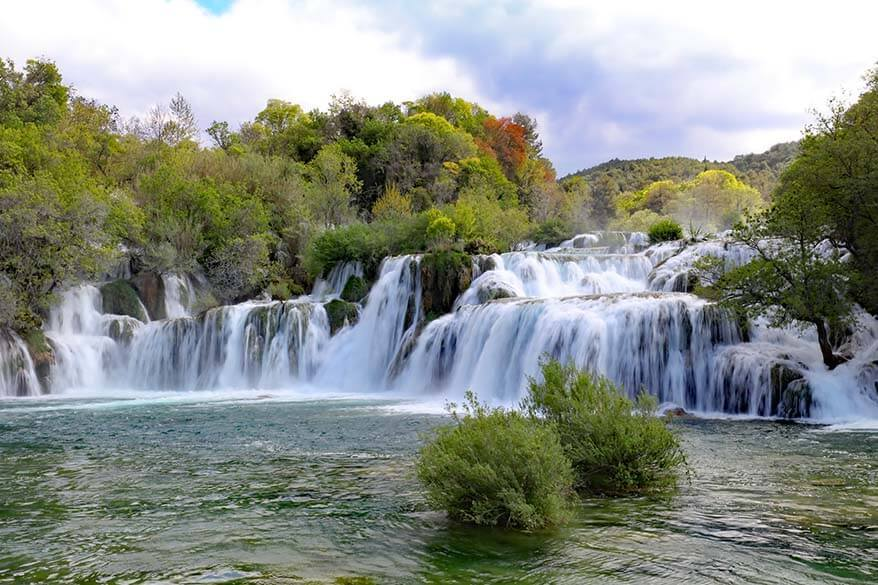 Krka National Park is a must in any Croatia itinerary