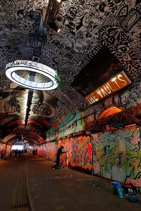 London Secret Places - The Vaults