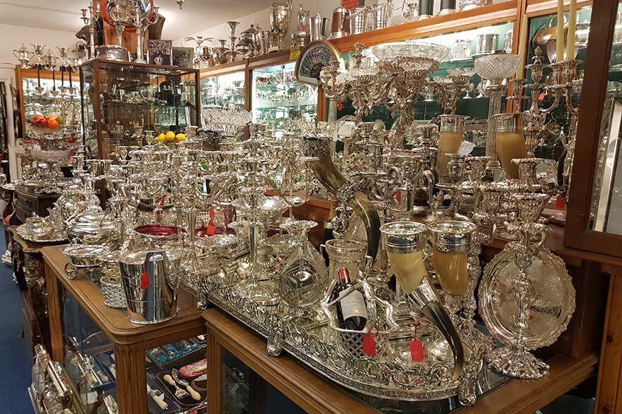 London Silver Vaults - a true hidden gem in London