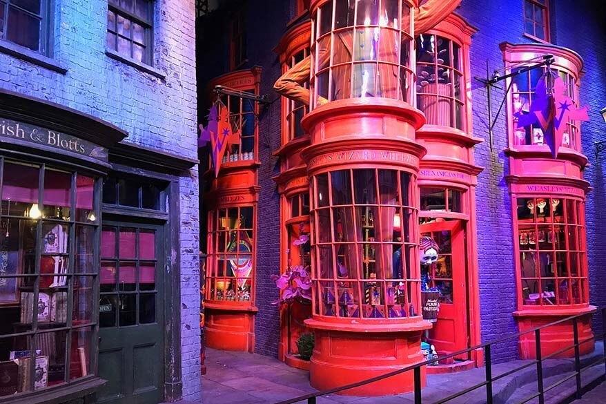 London with kids - visit Harry Potter studios