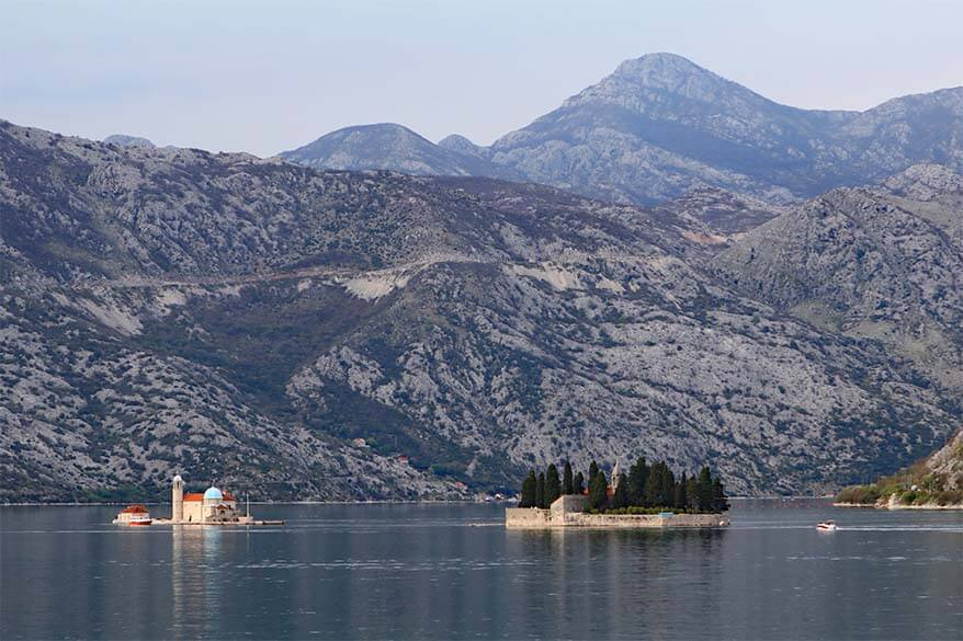 Perast on Kotor Bay in Montenegro - amazing day trip from Dubrovnik