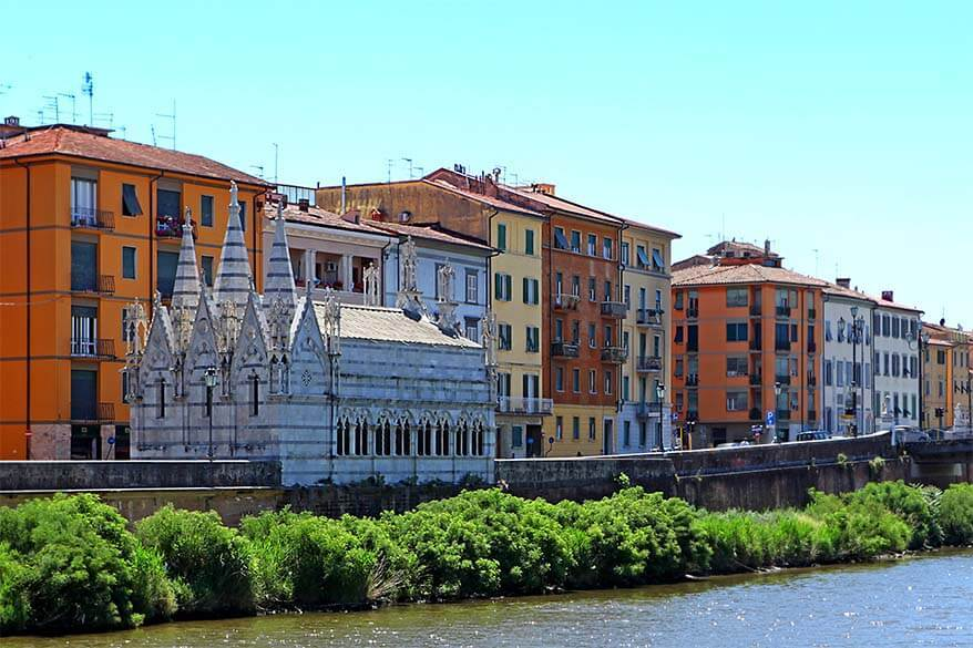 Pisa - one of the most underrated towns in Tuscany Italy