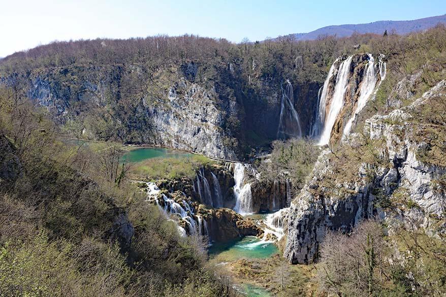 Plitvice Lakes National Park in April