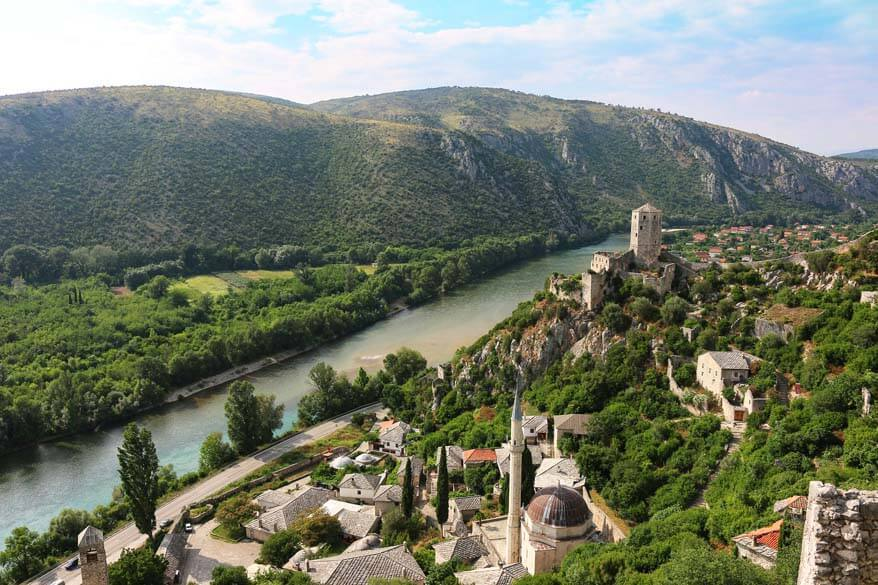 Pocitelj in Bosnia and Herzegovina - day trip from Croatia