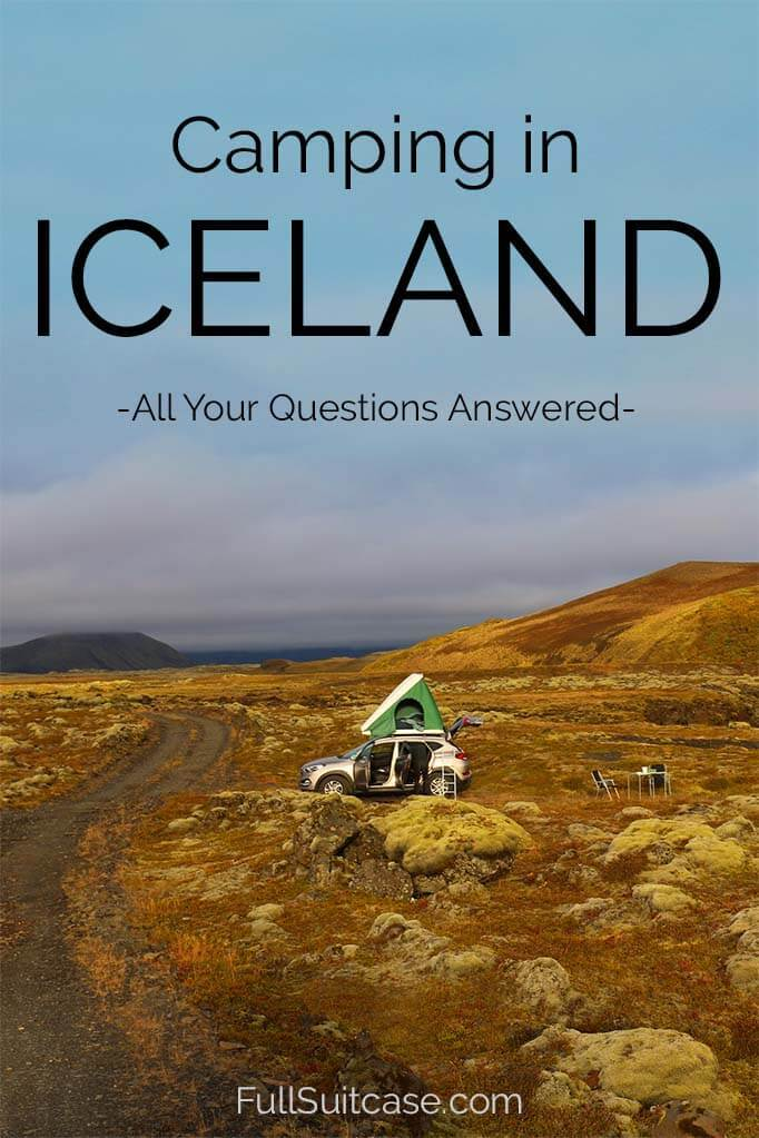 Practical guide to camping in Iceland