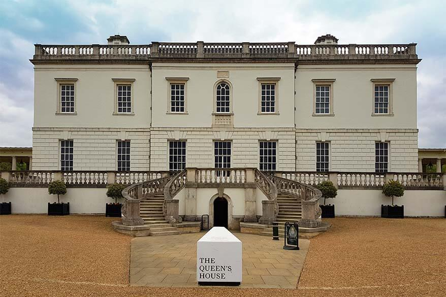 Queen's House in Greenwich, London