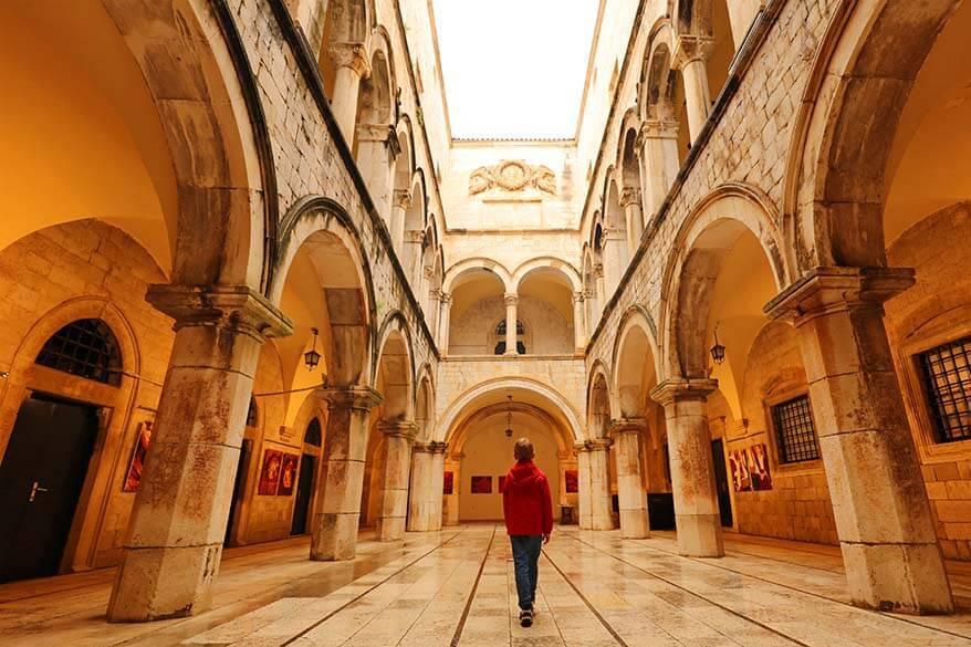 Sponza Palace in Dubrovnik