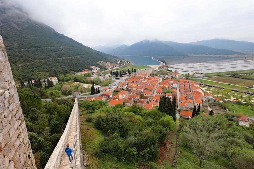 Ston city walls - Croatia