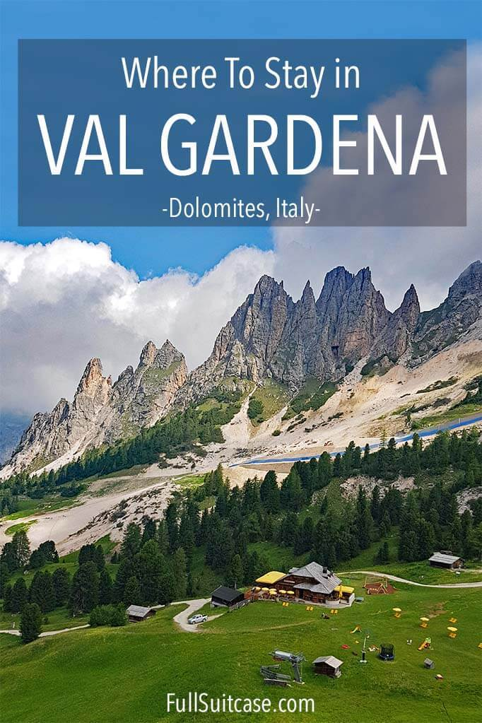 The most complete Val Gardena hotel guide - best hotels in Selva, Ortisei, and Santa Cristina