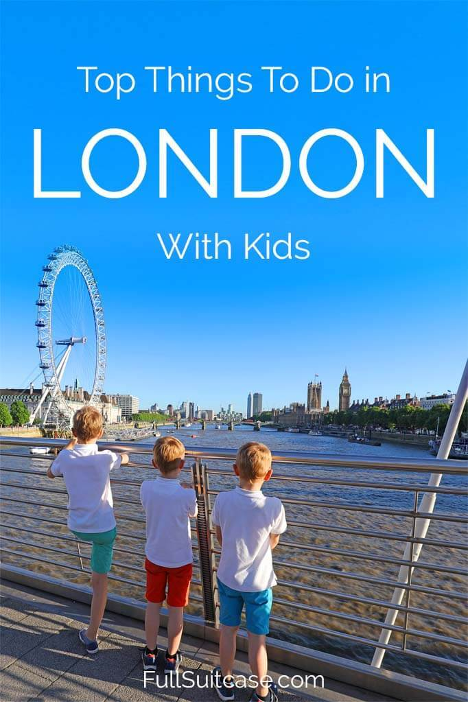 Top selection of the absolute best things to do in London with kids