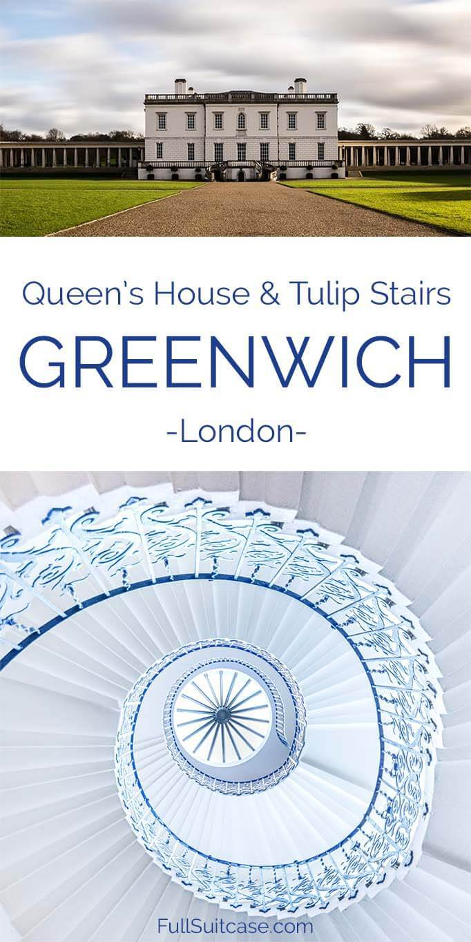Tourist Guide to Queen's House in Greenwich London