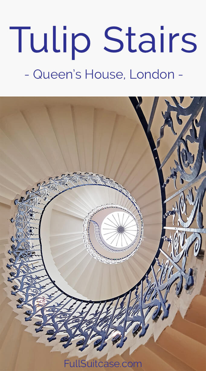 Tulip Stairs and Queen's House in Greenwich London