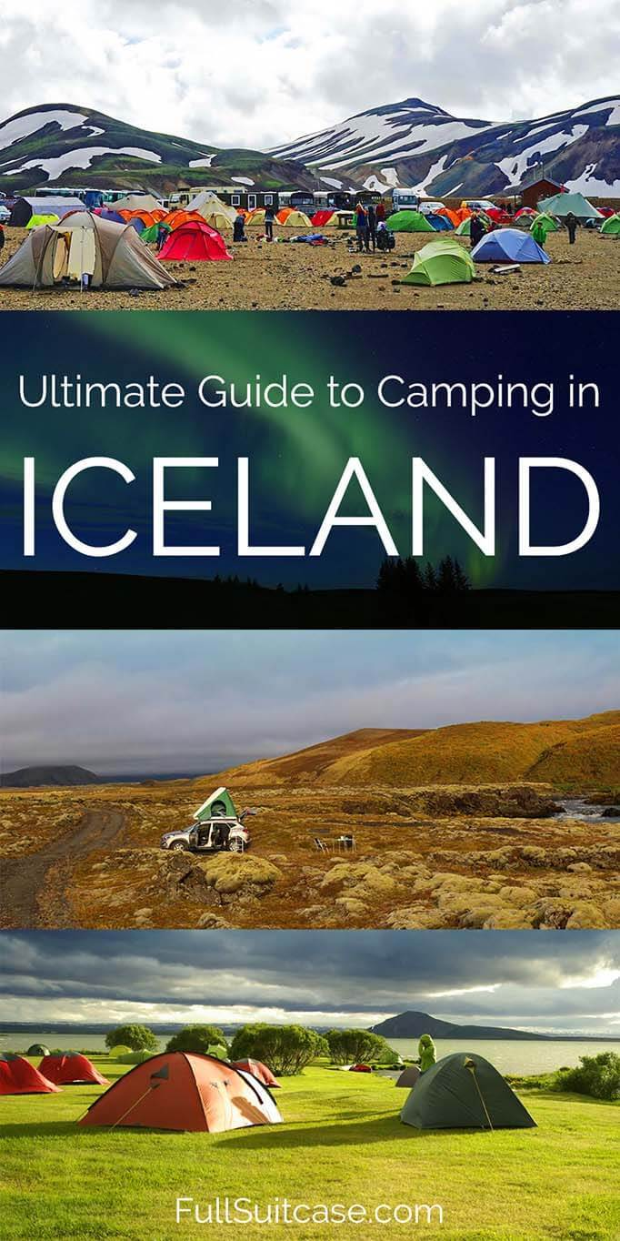Ultimate guide to camping in Iceland