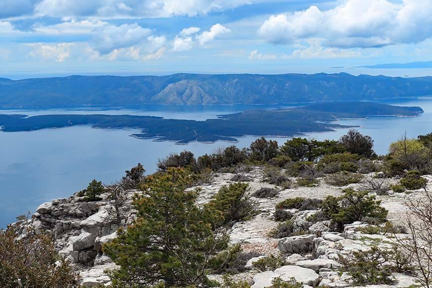 Vidova Gora - Brac island Croatia