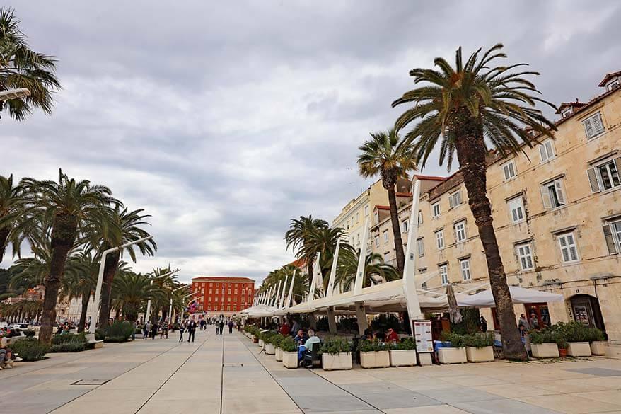 Visiting Split in April