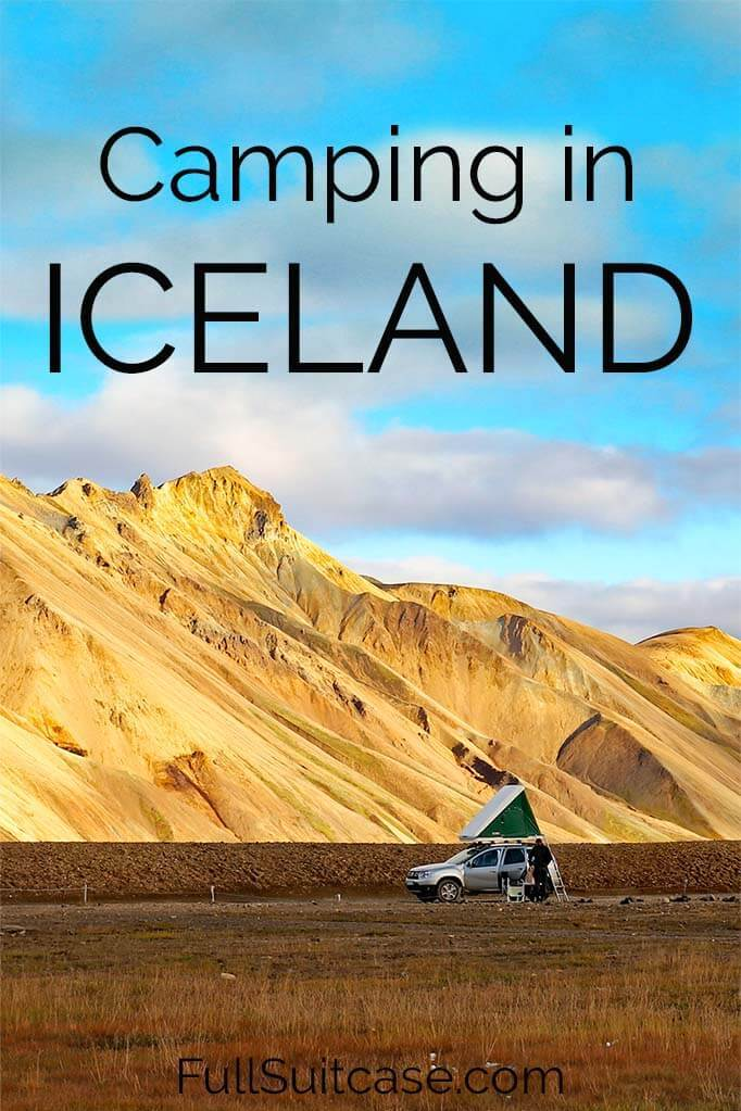 Your ultimate guide to camping in Iceland
