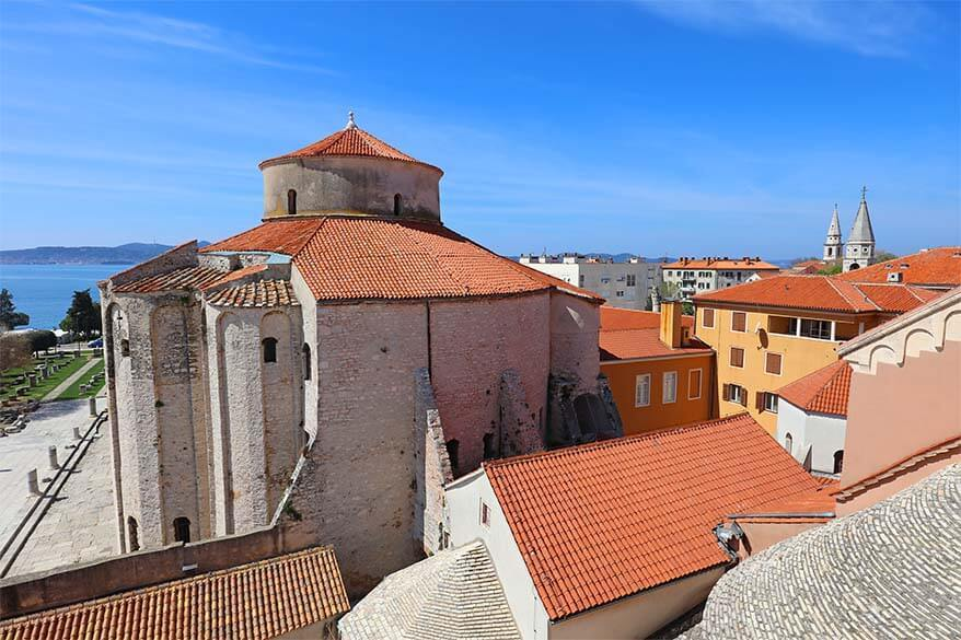 Zadar - one of the nicest towns in Croatia