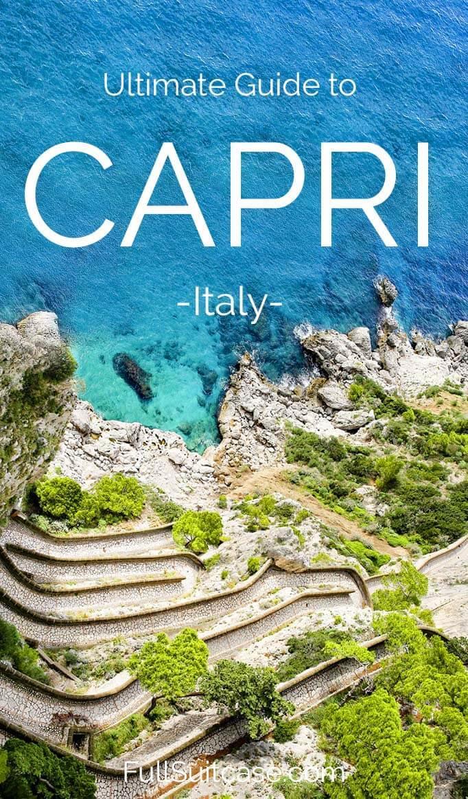 Amazing things to do in Capri Italy