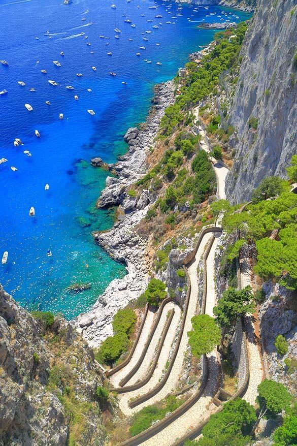 Amazing things to see in Capri - Via Krupp