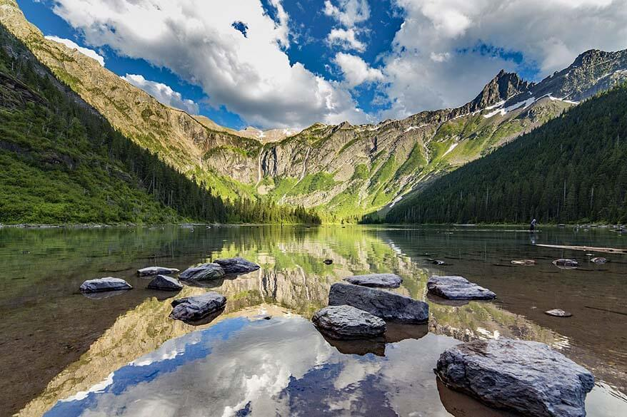 Avalanche Lake should be in every Glacier NP itinerary