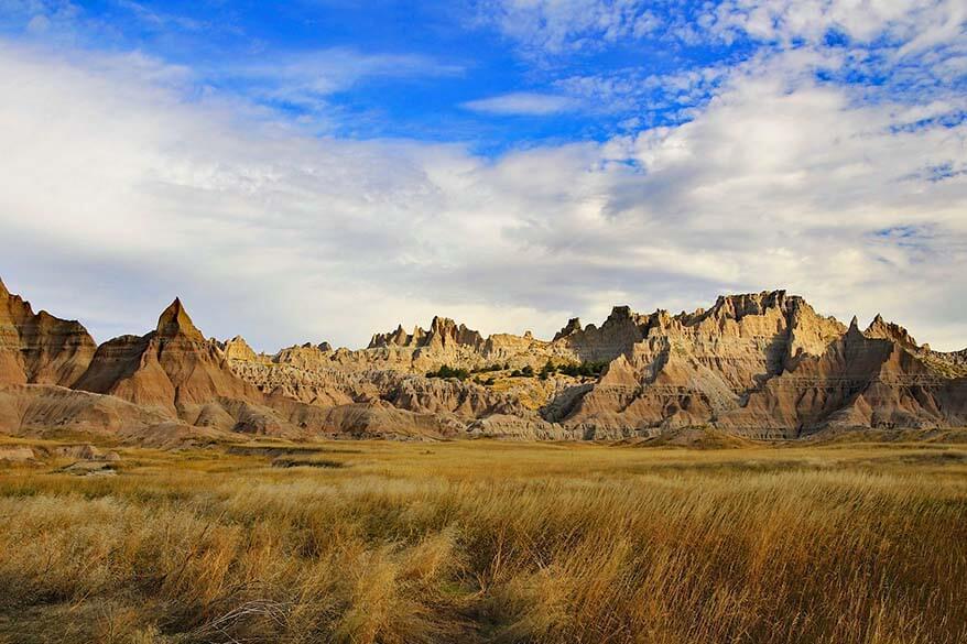 Badlands National Park - must visit near Mount Rushmore