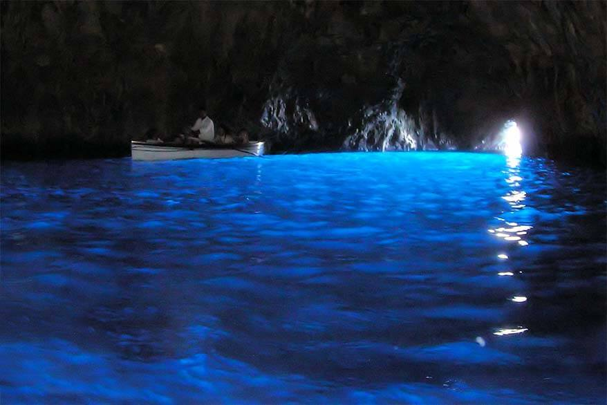 Best things to do in Capri - Blue Grotto is must see