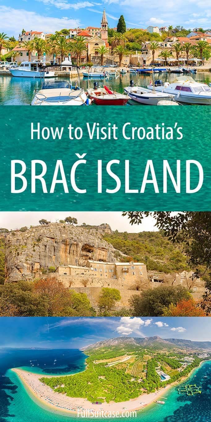 Complete guide to visiting Brac island in Croatia