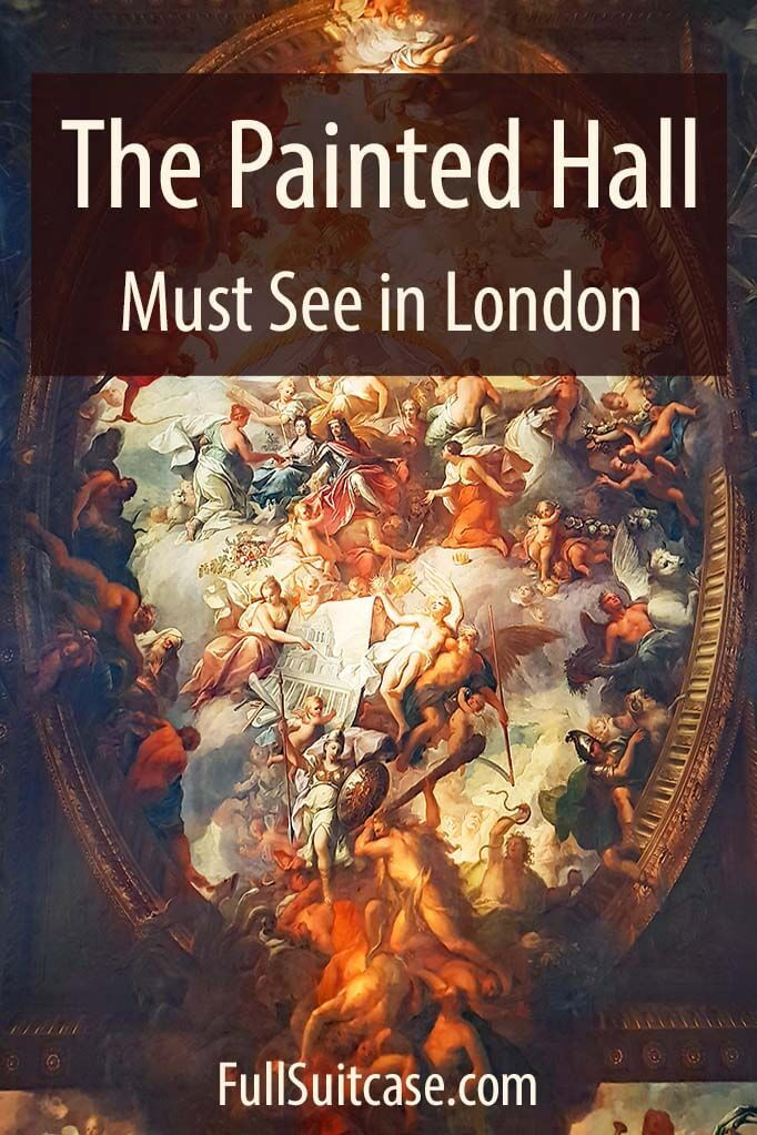 Complete guide to visiting the Old Royal Naval College and the Painted Hall in Greenwich London