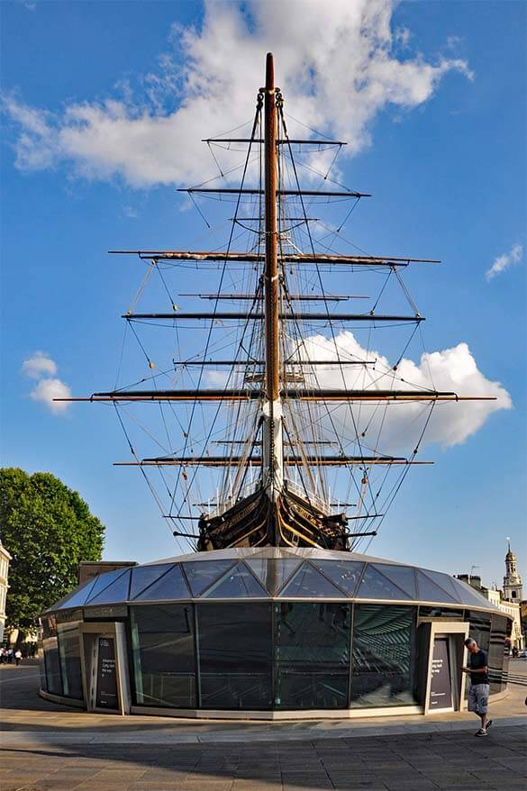 Cutty Sark - one of the best things to do in Greenwich