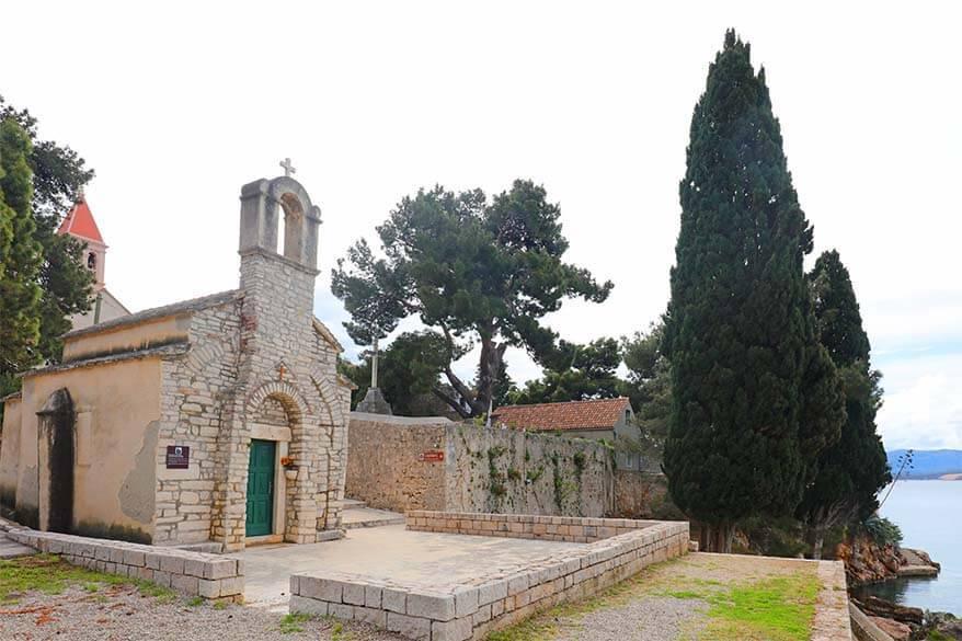 Dominican monastery in Bol on Brac island