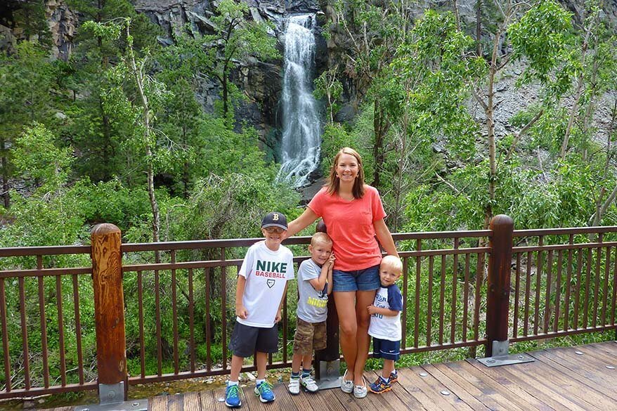 Spearfish Canyon is one of the places to visit near Mount Rushmore