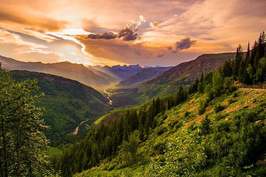 Going to the Sun Road is not to be missed in Glacier National Park