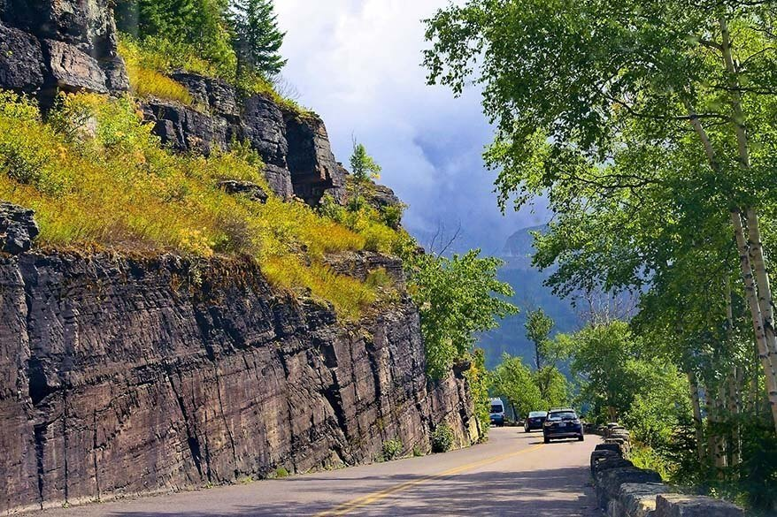 Going to the Sun Road is a must in every Glacier National Park itinerary