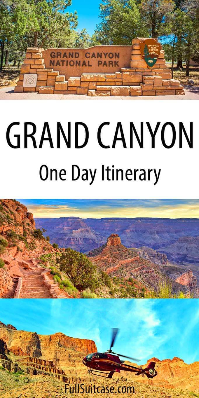 Grand Canyon itinerary for one day