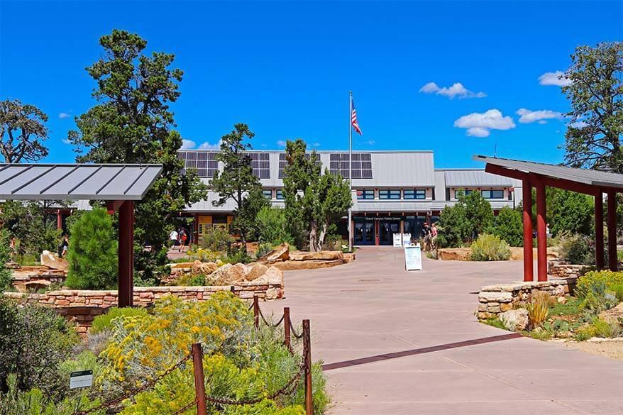 Grand Canyon main Visitor Center at the South Rim