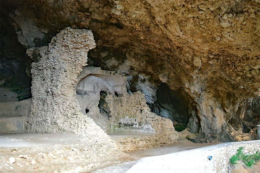 Grotta di Matermania in Capri Italy