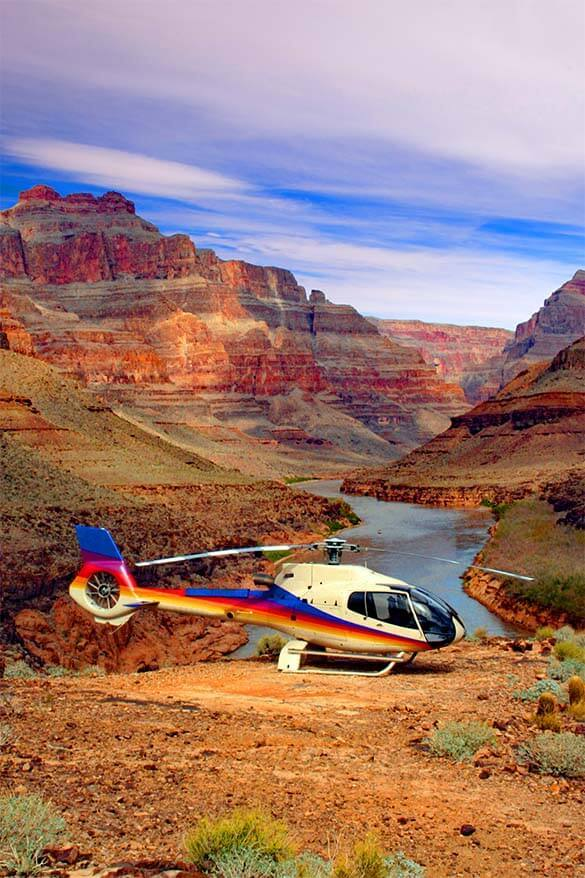 Helicopter ride is a great way to see the Grand Canyon National Park (1)
