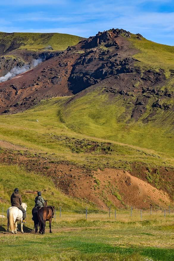 Icelandic horse riding - one of the popular activities in Iceland