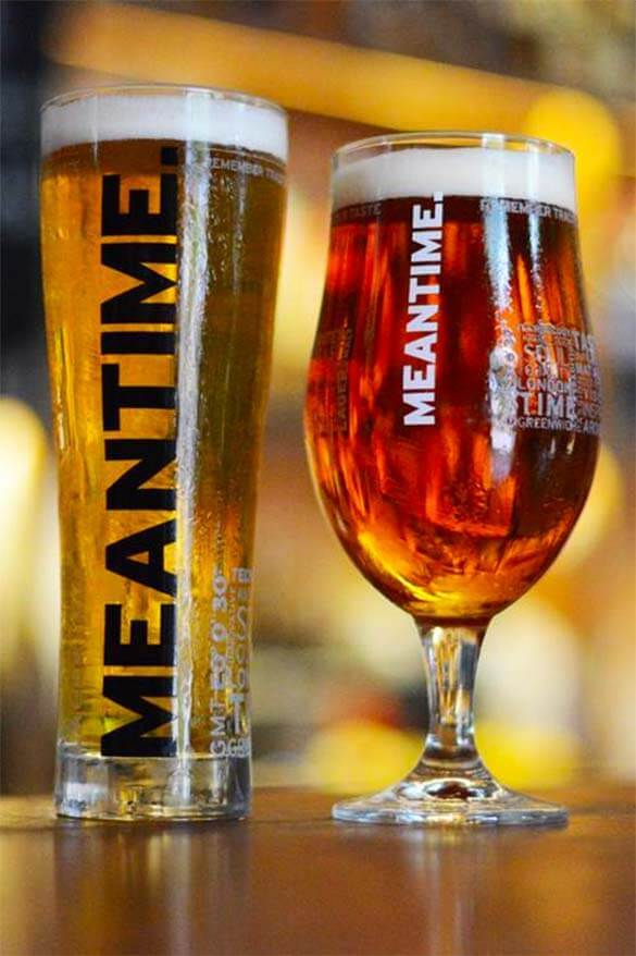 Meantime beer - Greenwich