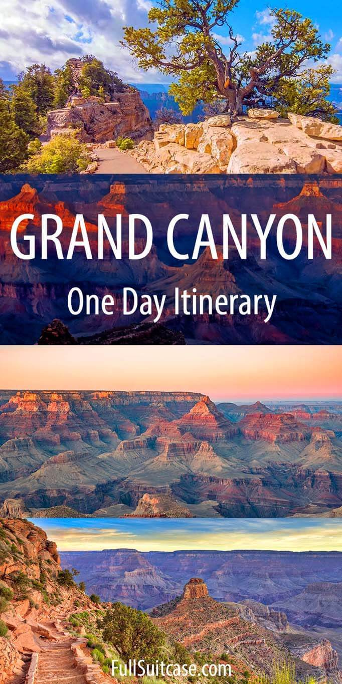 One day at the Grand Canyon - what to see and do