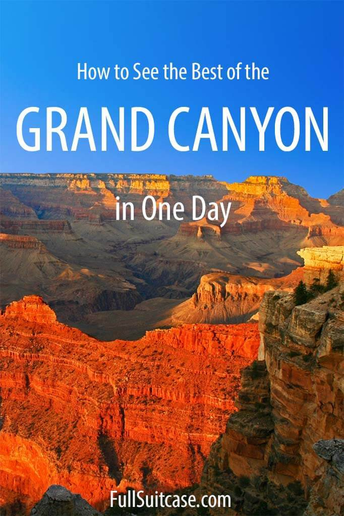 One day in Grand Canyon - things to do, itinerary, and practical tips for your visit
