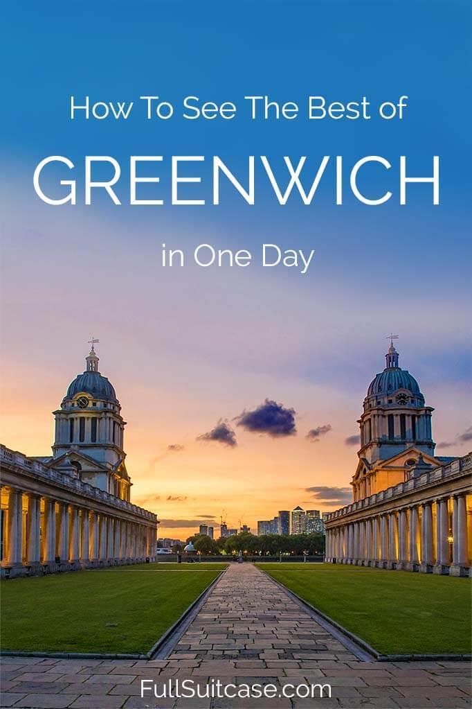 One day in Greenwich - what to see and do