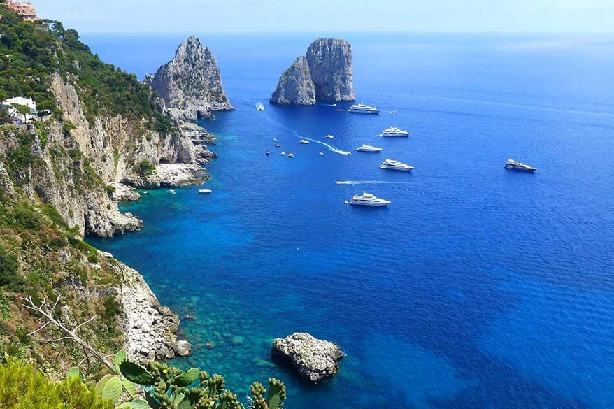 How to get to Capri