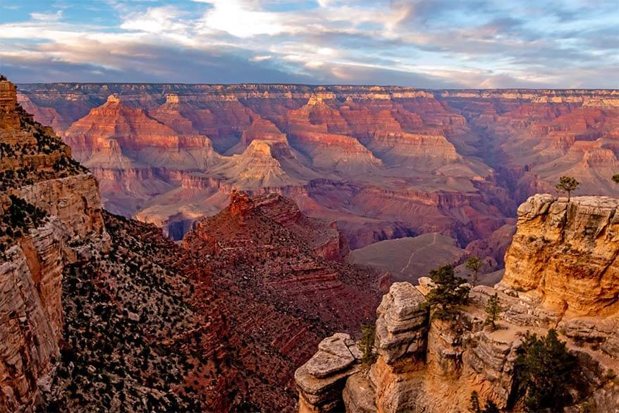 South Rim Trail is not to be missed if visiting Grand Canyon for one day